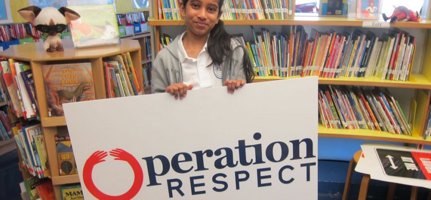 Operation Respect: Program and Professional Development