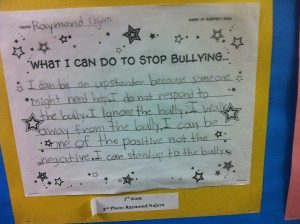 Bullying Prevention and Classroom Agreements