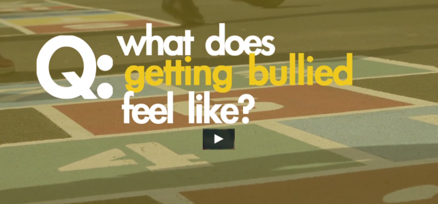 What Does Getting Bullied Feel Like?