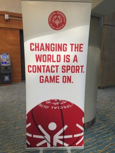 Inclusion and Special Olympics - Changing the World is a Contact sport