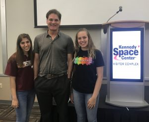 John McKenna with Parkland Students